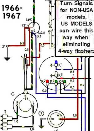1966 Bug Wiring Diagram Schematic Thesamba Com View Topic Anyone Have Info On How To