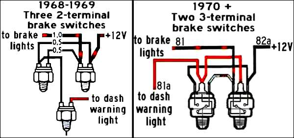 74 beetle wiring diagram for lights on