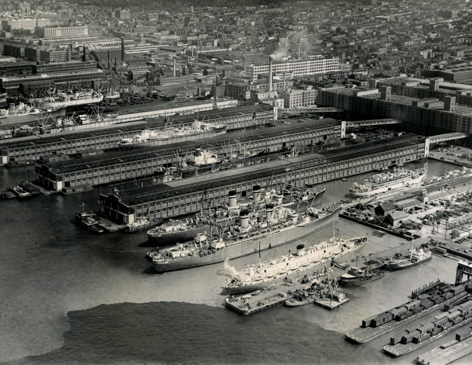 Naval Station And Shipyards Historic North River New
