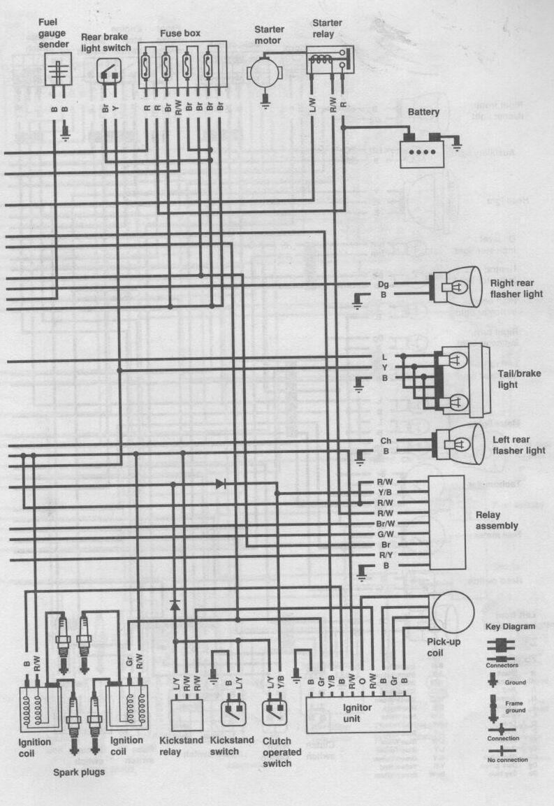 yamaha xs650 bobber wiring diagram dermis layer 1982 xj 650 diagram, 1982, free engine image ...