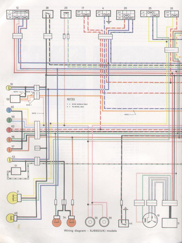 medium resolution of 82 xj650 wiring diagram 82 get free image about wiring yamaha xs650 wiring diagram yamaha xs650 wiring diagram