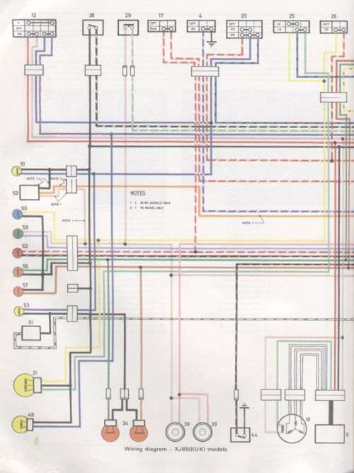 small resolution of 82 xj650 wiring diagram 82 get free image about wiring yamaha xs650 wiring diagram yamaha xs650 wiring diagram