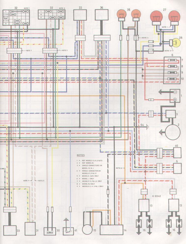 yamaha rd 350 wiring diagram diagrams honeywell y plan 1982 xj650 www toyskids co for xj750 maxim avenger brake light xs650