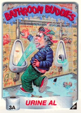 Bathroom Buddies Series 1  Garbage Pail Kids World