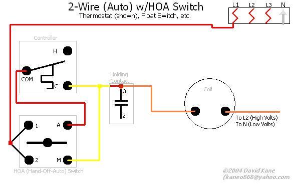 hand off auto wiring diagram  water heater element wiring
