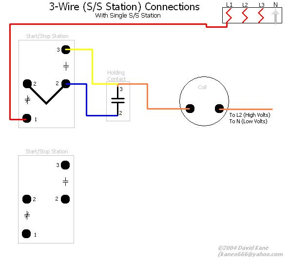 Start Stop Station Wiring Diagram : 33 Wiring Diagram