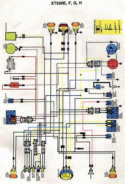 Yamaha Xt250 Wiring Diagram Honda Sl70 Wiring Diagram Wiring