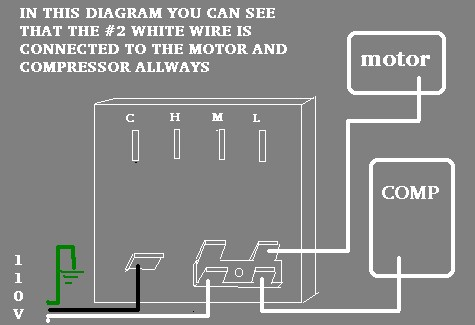 Ac Compressor Air Conditioner Ac Split Ac Wiring Diagram