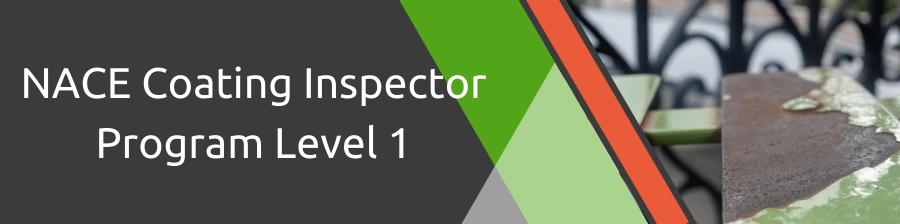 NACE Coating Inspector Program Level 1