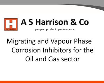Migrating and Vapour Phase Corrosion Inhibitors for the Oil and Gas Sector