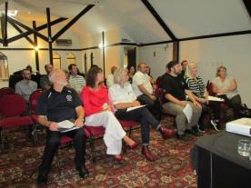 The audience present at the Branch AGM