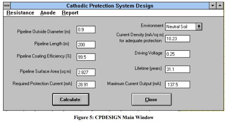 CP Design Main Window