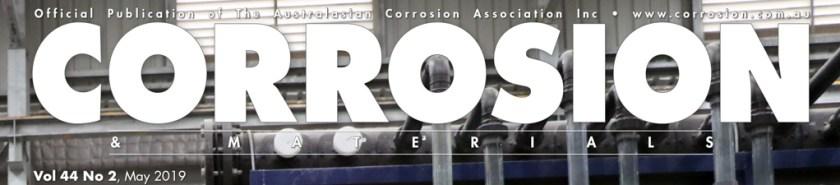Corrosion & Materials |May 2019