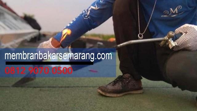 TUKANG MEMBRANE ASPAL BAKAR ANTI BOCOR PER ROLL di Daerah  Keji,Semarang,Jawa Tengah - Hubungi Kami : 0812 9070 0500 -