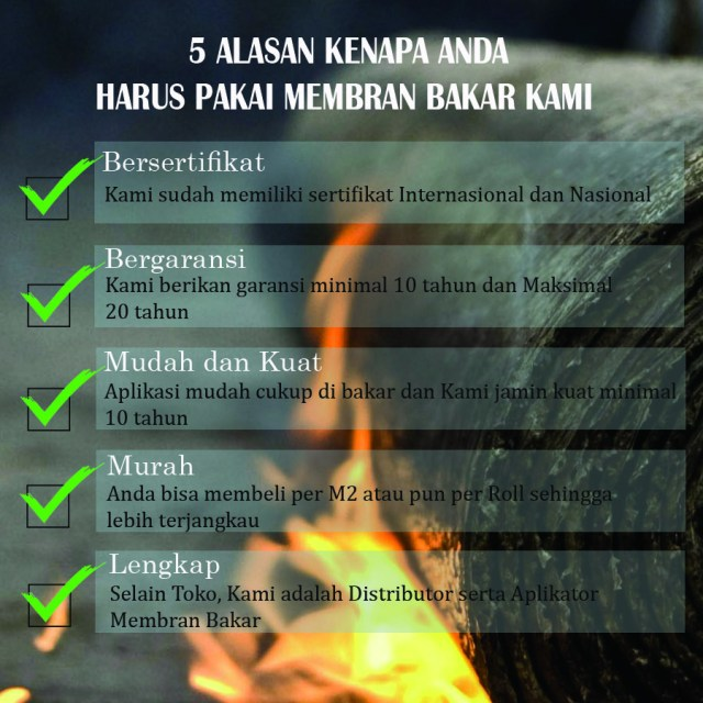 08 21 36 36 99 88 - Hubungi Kami :  harga membran bakar waterproofing per meter berdomisili di Kota Pucangsewu,Surabaya