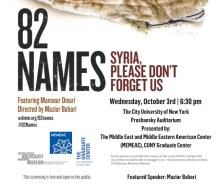 82 Names: Syria, Please Don't Forget Us
