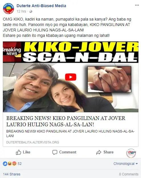Resulta ng larawan para sa jover laurio comments