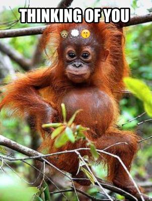 Thinking Of You Meme : thinking, Creator, Funny, Thinking, ????????????, Generator, MemeCreator.org!