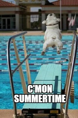 Summertime Meme : summertime, Creator, Funny, C'Mon, Summertime, Generator, MemeCreator.org!
