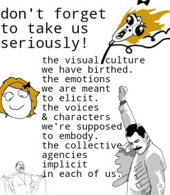 """A rage comic with """"worried omg run,"""" """"FemaleHappy,""""Freddie Mercury"""" & """"Fuck Yeah Danny Trejo"""","""" rage faces as made on Rage Comic Maker for Android by Tamas Marki."""