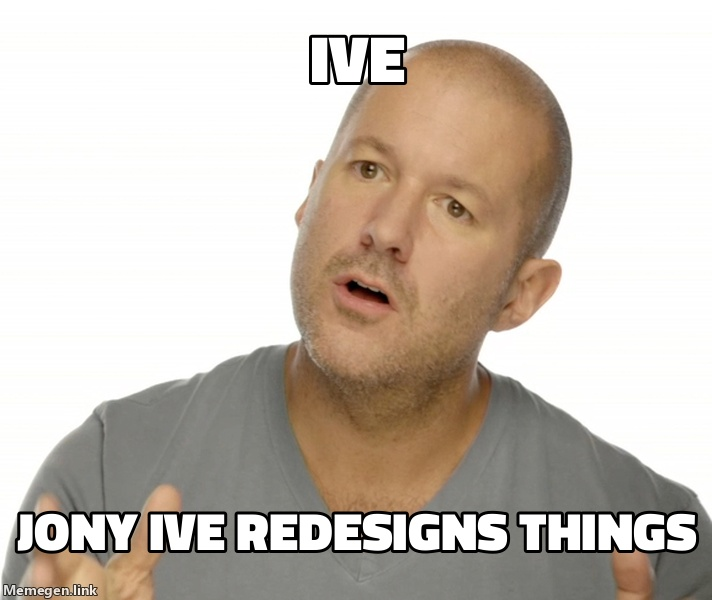 Jony Ive Redesigns Things