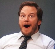 Image result for chris pratt excited