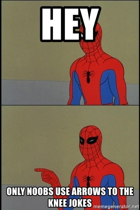 Spiderman Hey Meme : spiderman, Noobs, Arrows, Jokes, Spiderman, Poiting, Generator