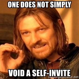 Self Invite Meme Inviviewco
