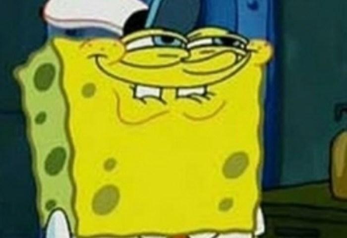 Aye Bro That Bitch A Thot Cake Spongebob Squarepants Meme Generator