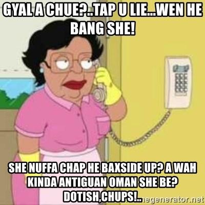 gyal a chue tap