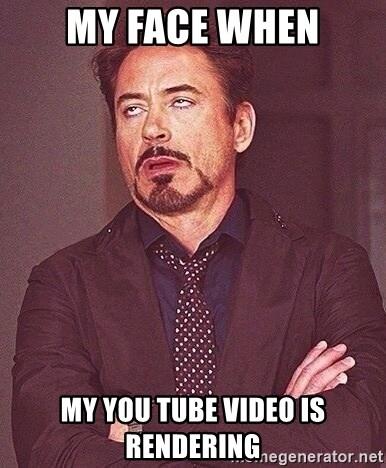 My Face When Meme Generator : generator, Video, Rendering, Generator