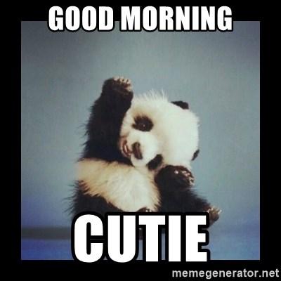 Cute Good Morning Meme