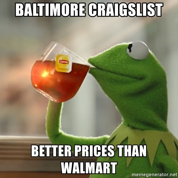 baltimore craigslist better prices