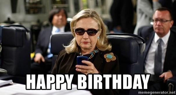 happy birthday hillary clinton