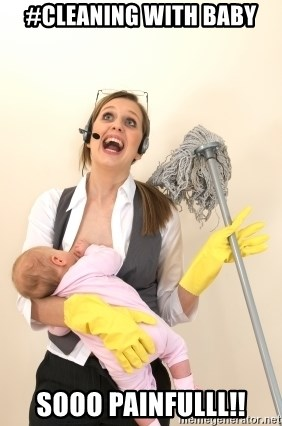 Mom Cleaning Meme : cleaning, Cleaning, Painfulll!!, Stressed, Generator