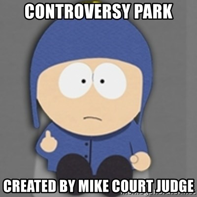 controversy park created by