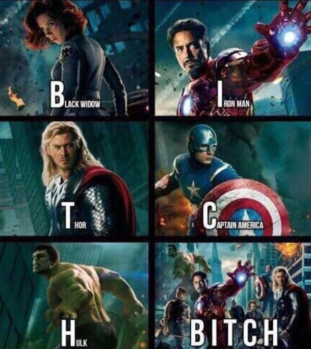 Better name than Avengers - Meme Guy