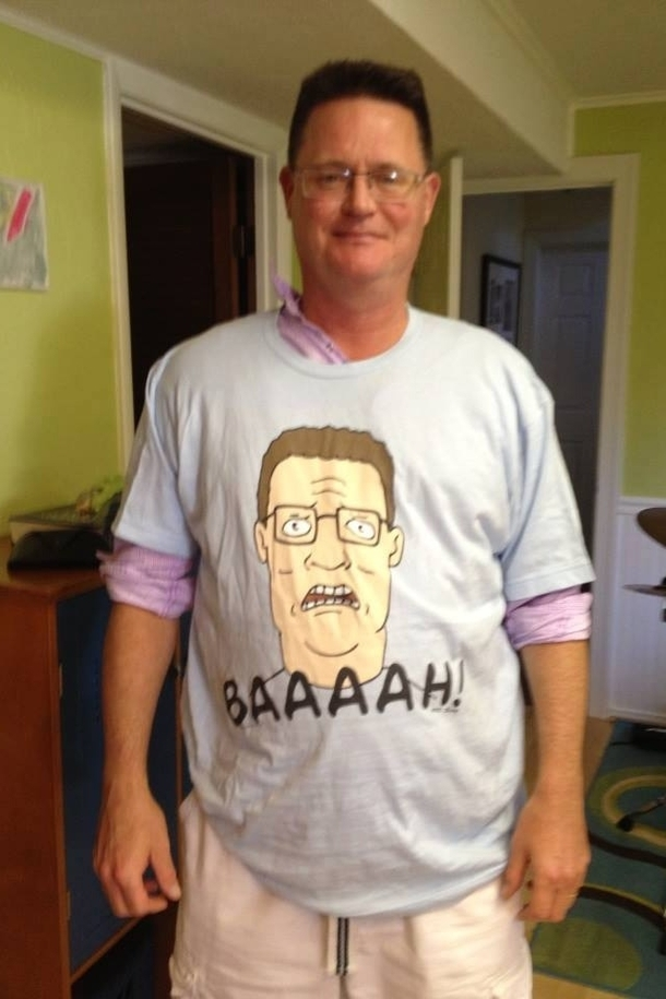 My Friends Dad Looks Like Hank Hill So He Got Him This