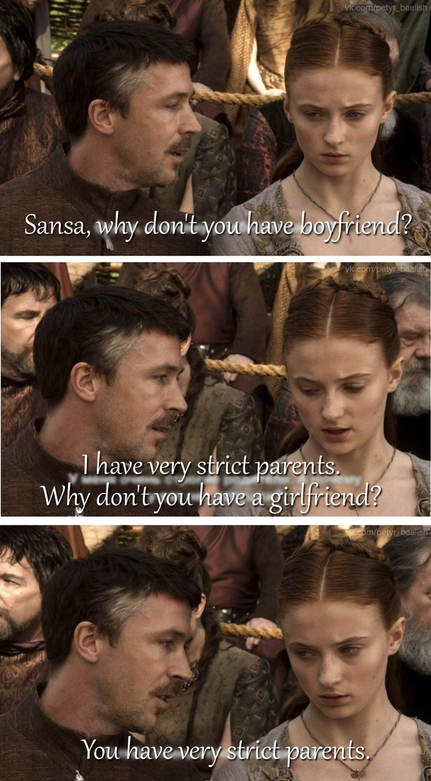 Sansa Stark Memes : sansa, stark, memes, Sansa, Stark, Petyr, Baelish