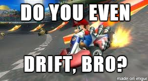 Spent my evening destroying my friends at Mario Kart