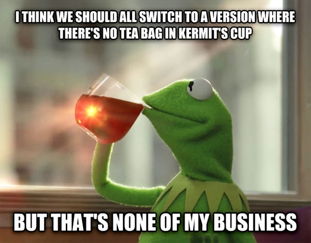 What Goes Through My Head When People Accuse Lipton Tea Of