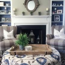 Navy Blue Home Decor