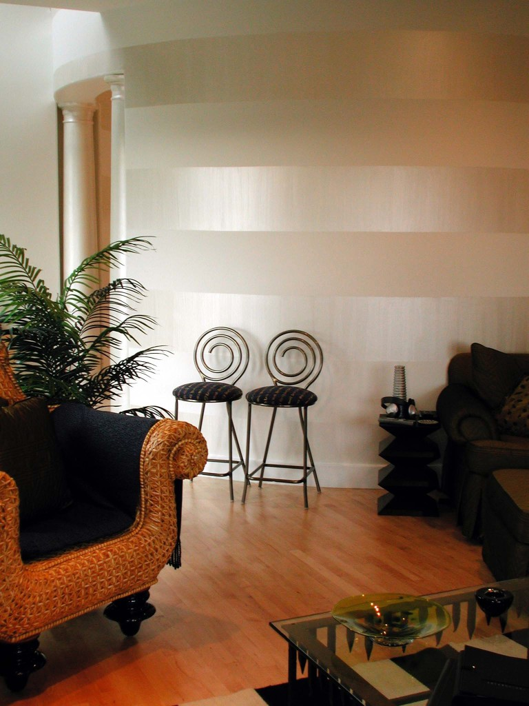 Fall Cottage Wallpaper How To Paint Horizontal Stripes In A Day W Meme Hill