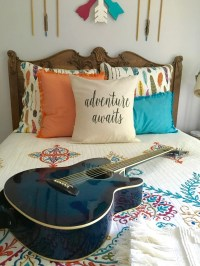 Boho Chic Teen Girls Room Makeover: Adventure Awaits ...