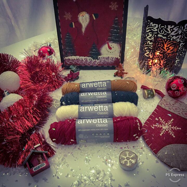 boite à bas de Noël