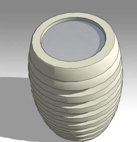 Romtio Urn 3D Model