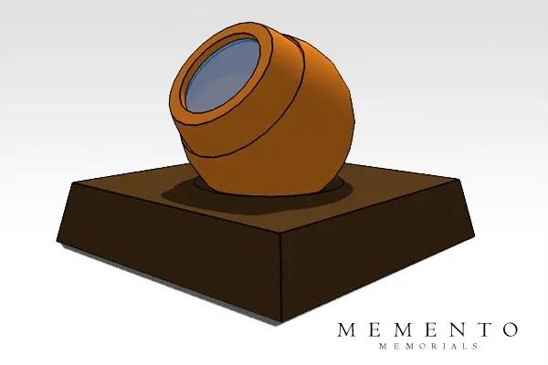 Pod Urn Sketchup Model