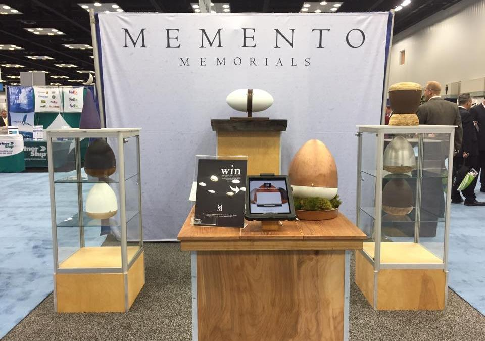NFDA2015 Expo Memento Memorials Urn Giveaway
