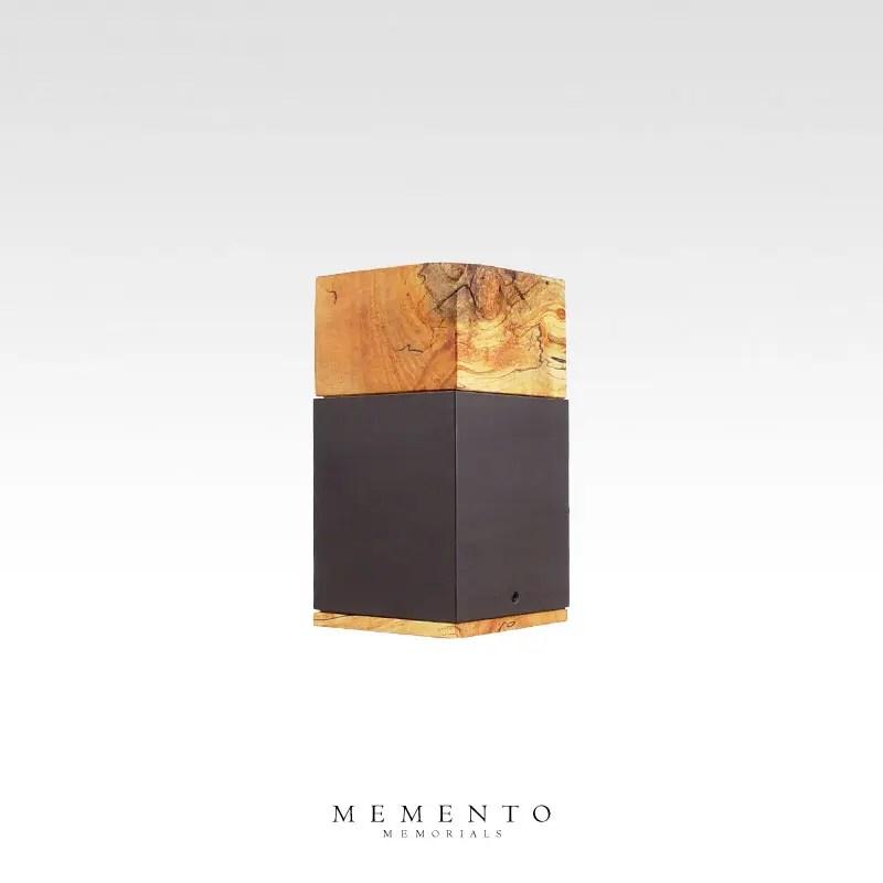 Spalted Birch cremation keepsake urn