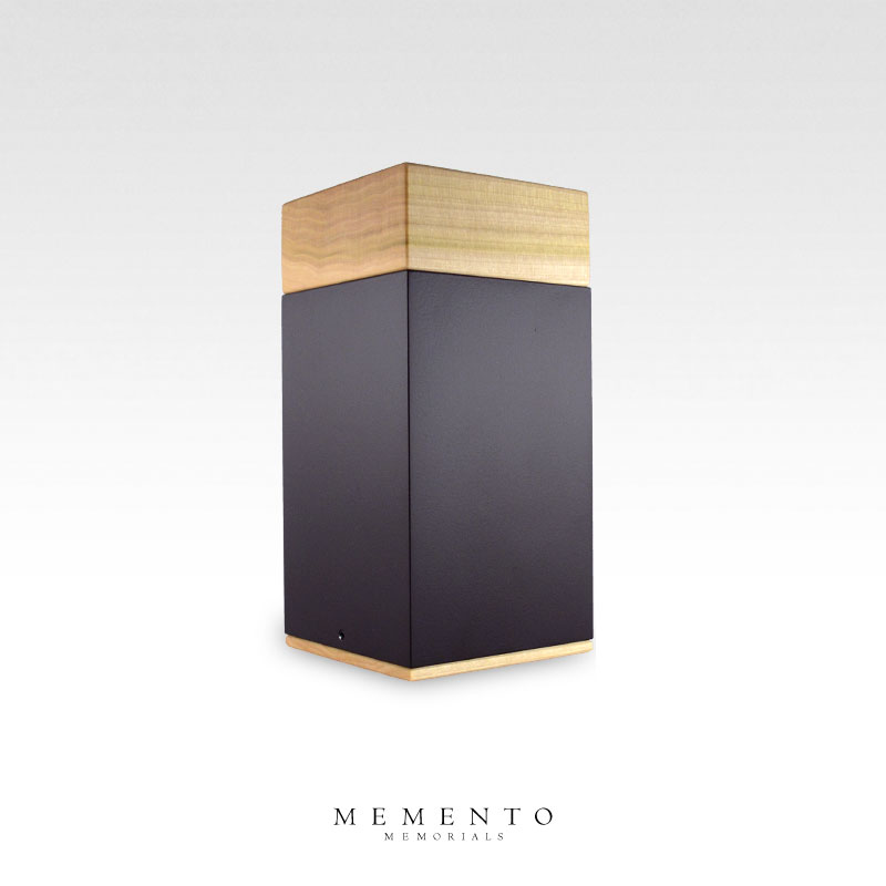 Meta - Poplar Wood Midsize Cremation Urn